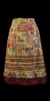 Easton Pearson Cotton Print Skirt